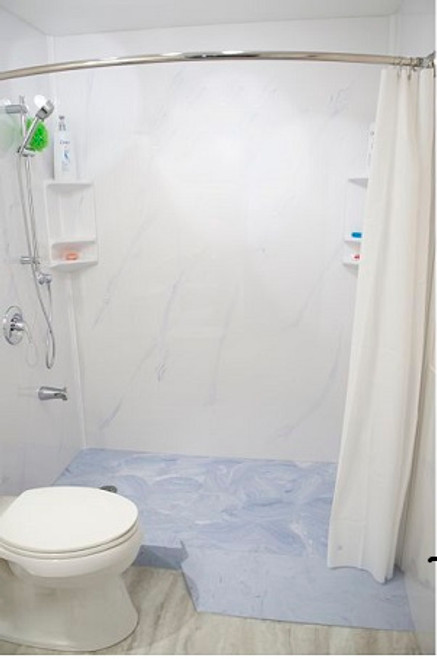 Cultured Marble - Shower Ramp