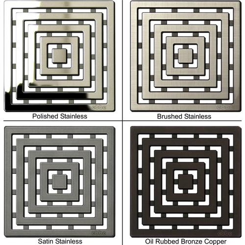 EBBE Unique Series Drain Grates