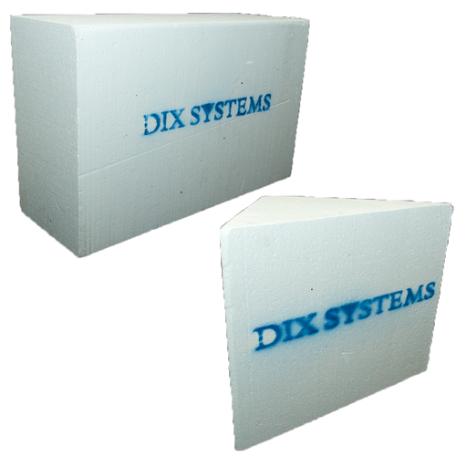 Dix Systems Solid Rectangular (DSSR-32) and Solid Corner Bench (DSSC-16).