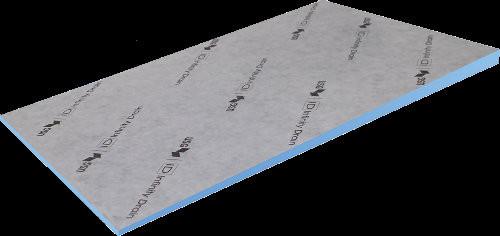 Durock Infinity Sloped Shower Floor by USG
