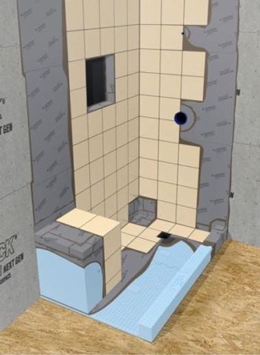 Durock Ultralight Foam Backer Board for Tile