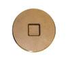 "8"" Brass Countersunk Threaded Plug (MPT)"