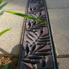 Iron Age Raw Cast Iron Spee-D Channel Locust Grate