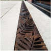 """Iron Age Raw Cast Iron Locust Grate 5"""" for ABT, ACO, MEA"""