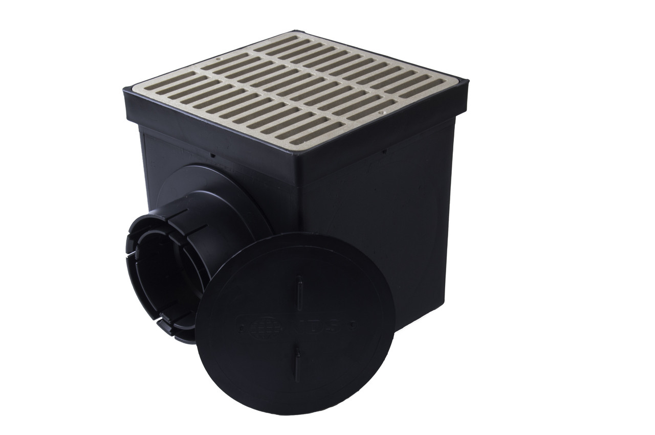 Nds 9 Quot Catch Basin Kit W Sand Grate The Drainage