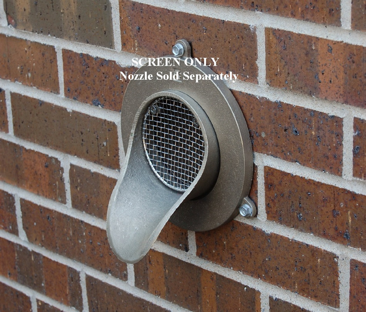 4 Quot Bird Screen For Nickel Bronze Downspout Nozzle The
