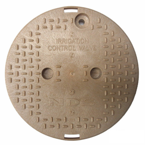 "NDS 10"" Valve Box Cover ONLY - Sand"