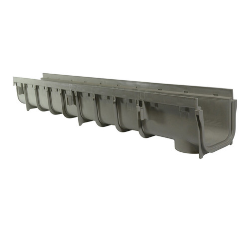 """NDS Pro Series 5"""" x 1 Meter Deep Profile Channel Drain"""