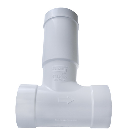 Pvc 4 Quot Bull Run Valve The Drainage Products Store