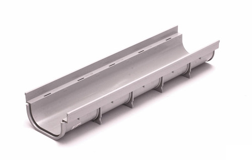 """NDS Pro Series 5"""" Shallow Profile Channel Drain"""