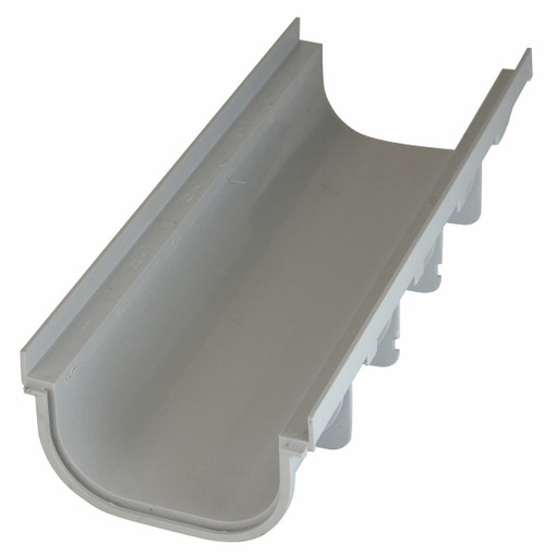 """NDS Pro Series 8"""" Shallow Profile Channel Drain"""