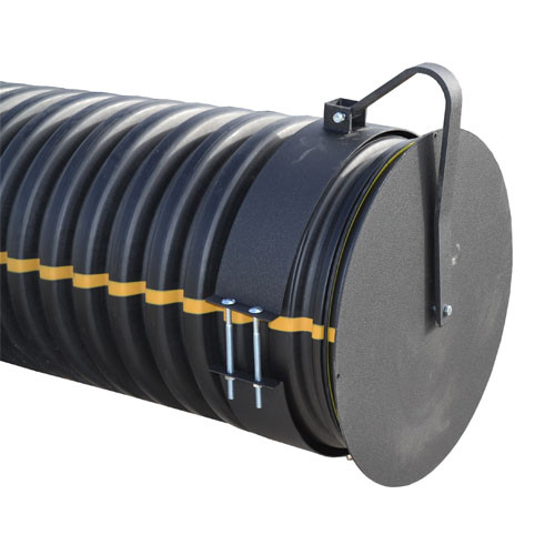 """Flap Gate 24"""" for Corrugated Plastic Pipe"""