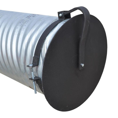 Flap Gate 24 Quot For Corrugated Plastic Pipe The Drainage