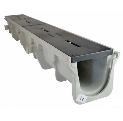 """NDS Dura Slope Channel Drain 097N (6.35"""" Neutral)"""