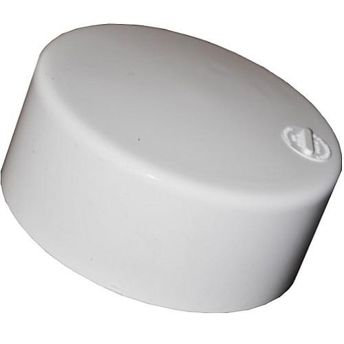 "3"" PVC SDR35 Solvent Weld Cap (S)"