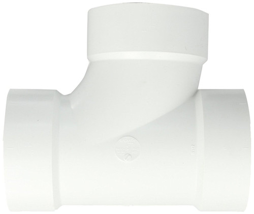 "1 1/2"" x 1 1/2"" x 1 1/2"" PVC DWV Sanitary Tee (S x S x S)"