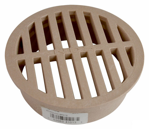 """NDS  4"""" Round Grate - Sand (Each)"""