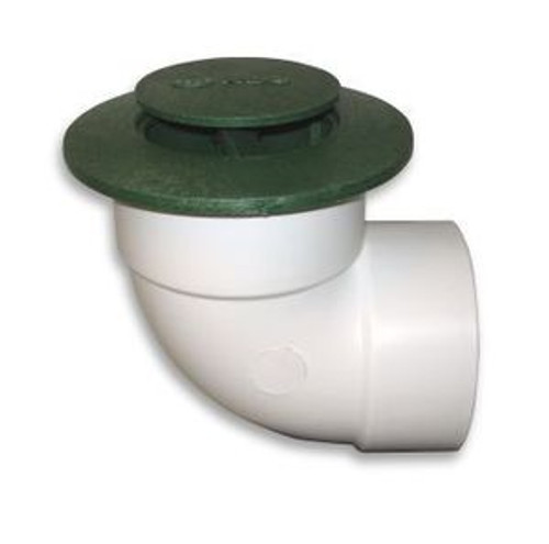 "4"" NDS Pop-Up Emitter with SDR35 Elbow (Green) (Box of 20)"