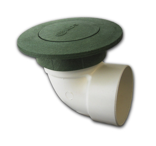 """3"""" NDS Pop-Up Emitter with SDR35 Elbow (Green) (Box of 25)"""