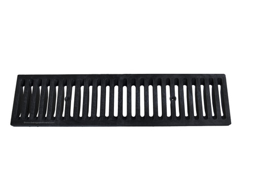 NDS Dura Slope Plastic Grate - Black (Box of 12)
