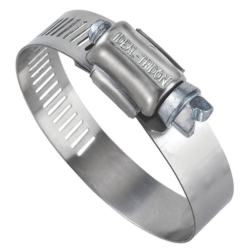 """Ideal 63004-0128 Stainless Steel Clamp (7.25"""" - 9.25"""") (10 Pack)"""