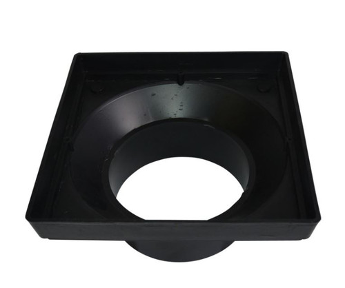 "NDS 12"" X 12"" Square Low Profile Spigot Adapter"