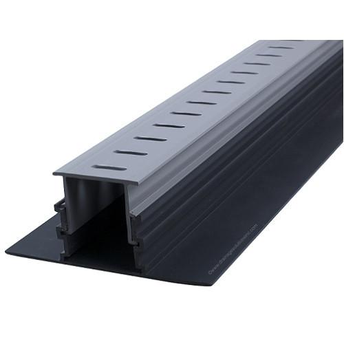 Stegmeier Adjustable Height Paver Drain (Grey) 10' (Box of 8)