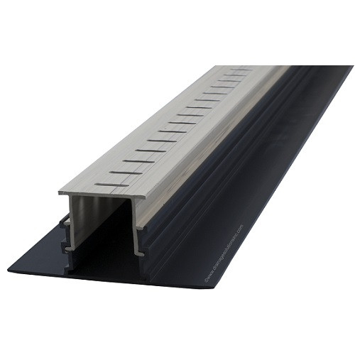 Stegmeier Adjustable Height Paver Drain (Marble) 10'