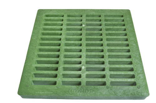 "NDS Square Plastic Grate for 24"" Basin - Green"