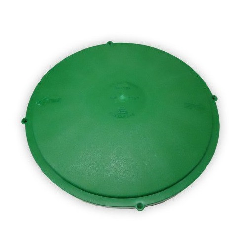 "Tuf-Tite 16"" Domed Riser Lid (Green)"