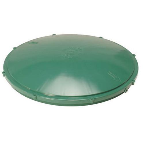 """Tuf-Tite 24"""" Domed Riser Lid (Green)"""