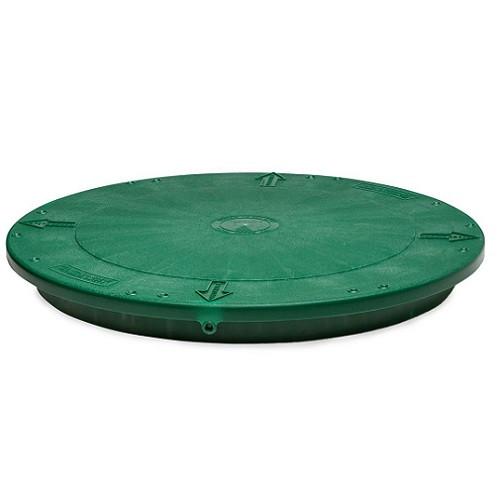 """Tuf-Tite 20"""" Flat Riser Lid (Green)"""