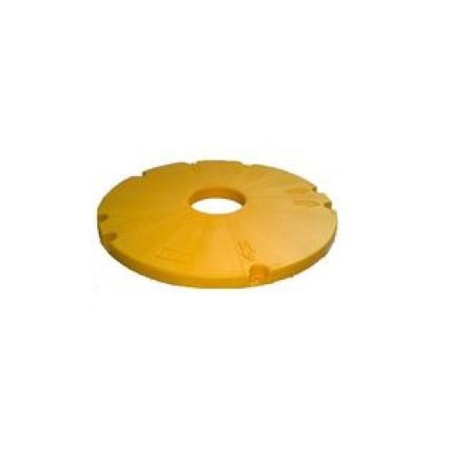 "Tuf-Tite 16"" Riser Internal Safety Lid (Yellow)"