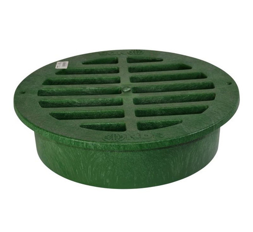 """NDS 15"""" Round Grate - Green"""