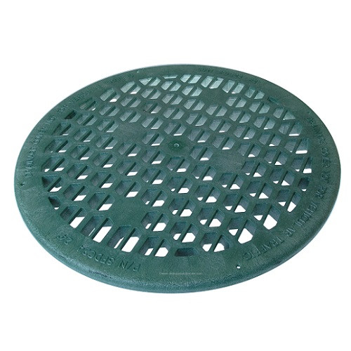 Structural Foam 24  Grate - Green  sc 1 st  The Drainage Products Store & Round 24