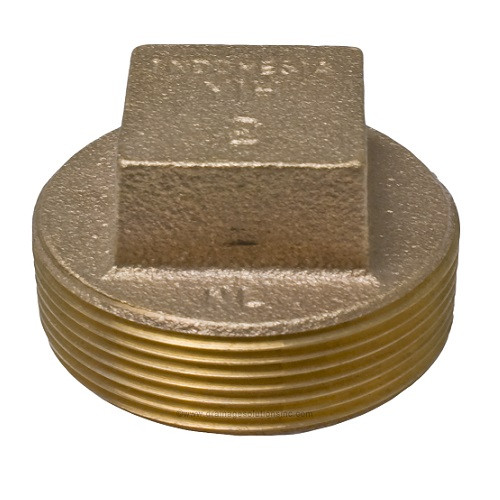 "1 1/2"" Bronze Plug (FPT)"
