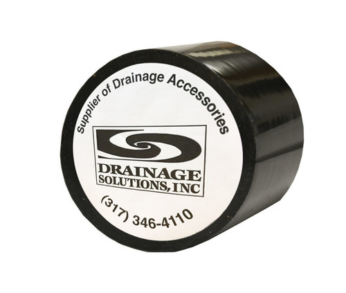 "Black PVC Tile Tape 2"" X 108' (Box of 24)"