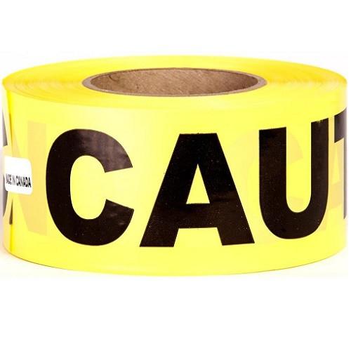 "3"" x 1000' Caution Tape"