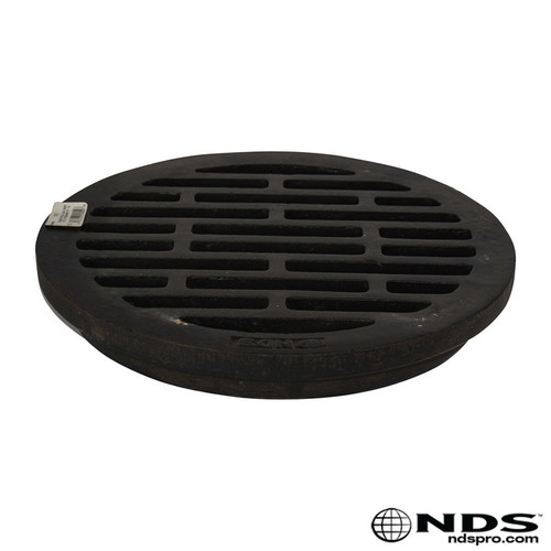 """NDS 12"""" Round Cast Iron Grate"""