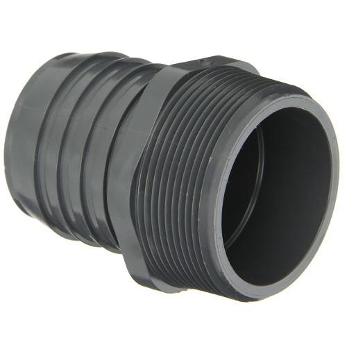 """1 1/2"""" PVC Insert Male Adapter (MPT x Insert)"""