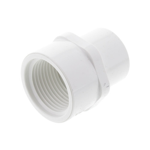 """3/4"""" x 1"""" PVC Schedule 40 Female Adapter (S x FPT)"""