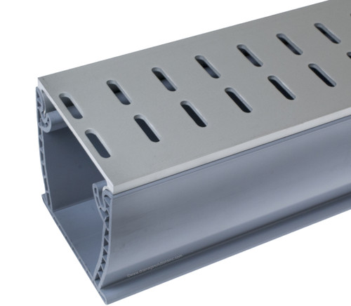 Stegmeier Flowmaster 3 A/T Deck Drain (Clear) 10'