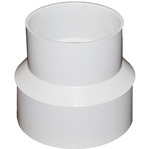 """12"""" X 10"""" PVC SDR35 Solvent Weld Coupling (S x S)"""