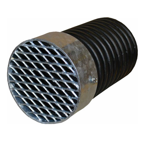 "Animal Guard  8"" External Corrugated Plastic Pipe"
