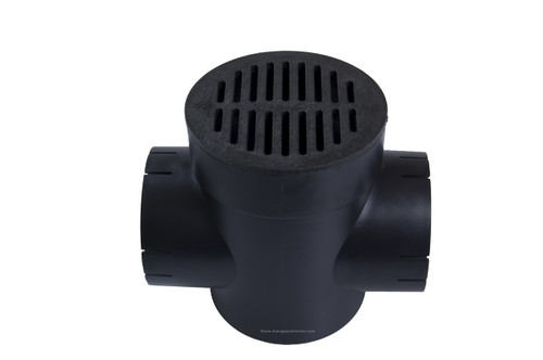 NDS Spee-D Basin Double Outlet Black Kit