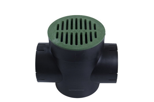 NDS Spee-D Basin Double Outlet Green Kit