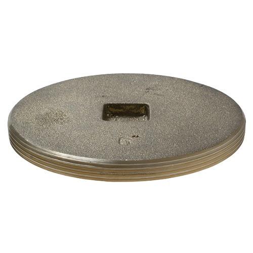 "6"" Brass Countersunk Threaded Plug (MPT)"