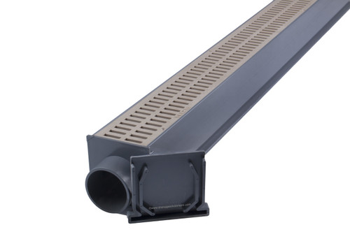 Nds Mini Channel Drain Kit Sand The Drainage Products