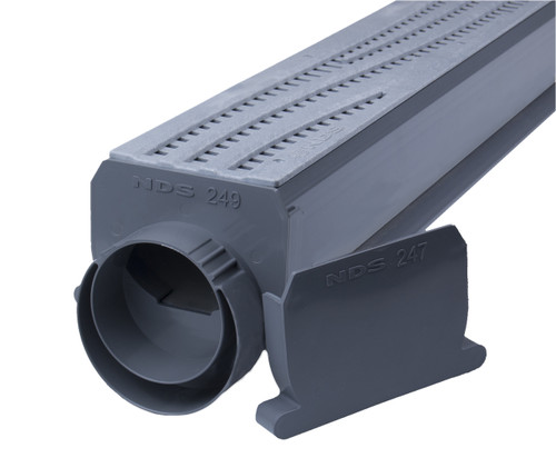 NDS Spee-D Channel Drain Kit (Gray Wave)