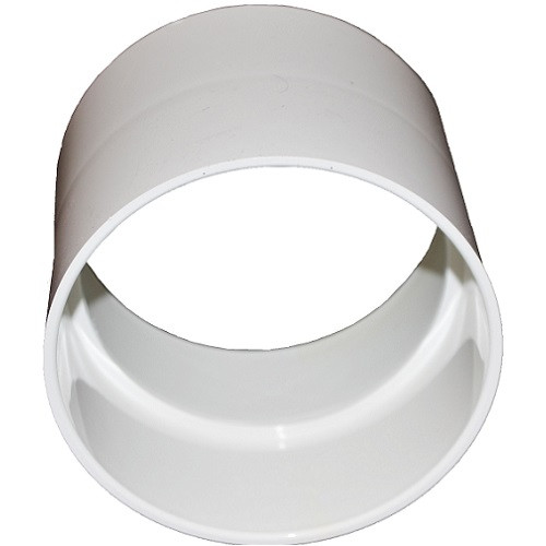"""4"""" PVC SDR35 Solvent Weld Coupling (S x S)"""